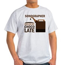 Sonographer Fueled by chocolate T-Shirt