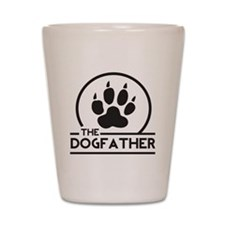 The Dogfather Shot Glass