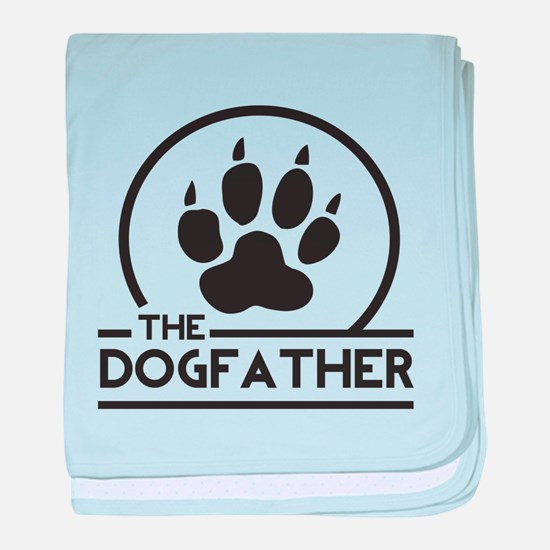 The Dogfather baby blanket