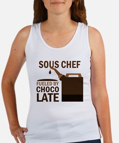 Sous Chef Fueled by chocolate Women's Tank Top