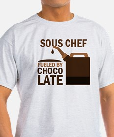 Sous Chef Fueled by chocolate T-Shirt