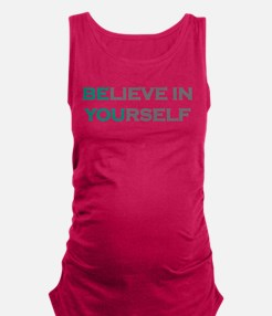 Cool Motivation Maternity Tank Top