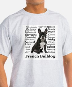 Frenchie Traits T-Shirt