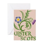 Ulster Scots Flax & Thistle Greeting Cards