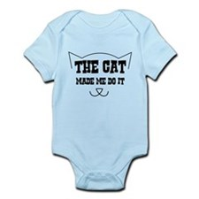 The cat made me do it Body Suit