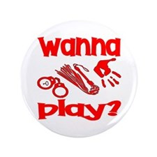 "Wanna Play 3.5"" Button (100 pack)"
