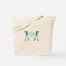 Women Fencing Tote Bag