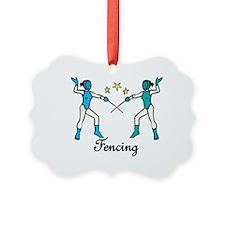 Fencing Ornament