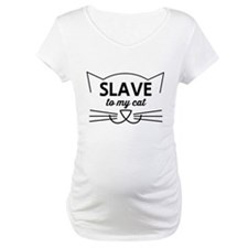 Slave to my cat Shirt