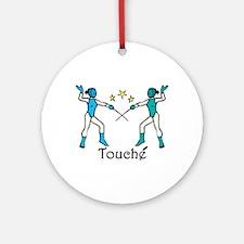 Touche Ornament (Round)