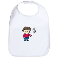 Badminton Boy Bib