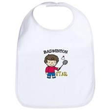Badminton Star Bib