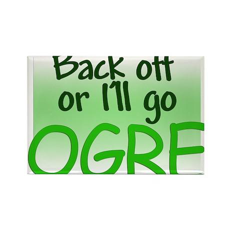 I'll go OGRE Rectangle Magnet (10 pack)