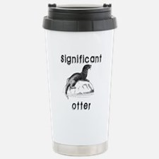 Significant otter Travel Mug