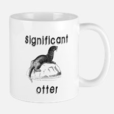 Significant otter Mugs