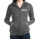 Walk_Softly_BW.png Women's Zip Hoodie