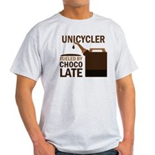 Unicycler Fueled by chocolate T-Shirt