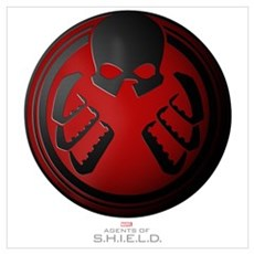 MAOS Hydra Shield Wall Art Framed Print
