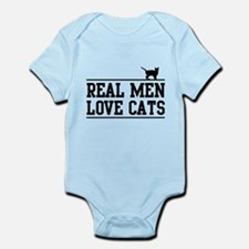 Real men love cats Body Suit