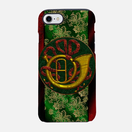 Harvest Moons French Horn iPhone 7 Tough Case