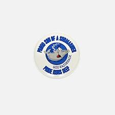 Proud Son Razorback Mini Button
