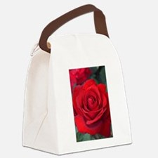 Cute Blooming Canvas Lunch Bag