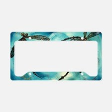 Cute Dragonfly License Plate Holder
