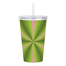 Spring Illusion Acrylic Double-wall Tumbler