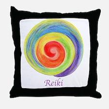 Unique Reiki Throw Pillow