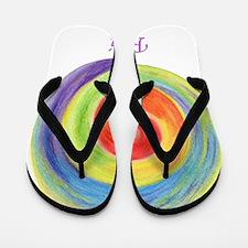 Cute Chakras Flip Flops