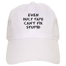 even duct tape Baseball Cap
