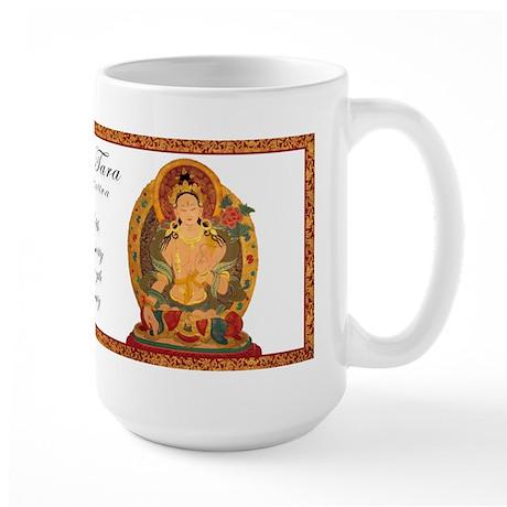 White Tara III Large Mug