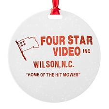 Four Star Video Ornament