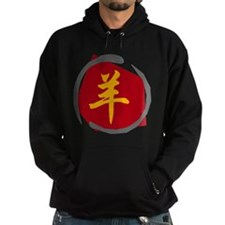 Chinese Zodiacc Character Sheep Hoodie