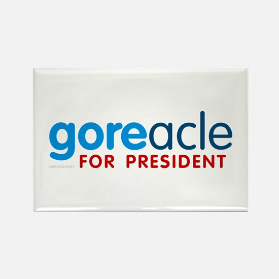 Goreacle for President Rectangle Magnet