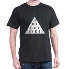 Priorities Triangle T-Shirt