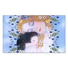 Gustav Klimt Mother & Child Bu Decal