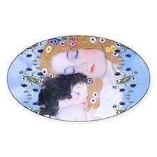 Gustav Klimt Mother & Child Bucket  Decal