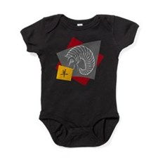 Chinese Zodiac Ram Sheep Baby Bodysuit