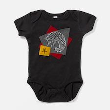 Chinese Zodiac Ram Sheep Baby Bodysuit