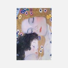 Gustav Klimt Mother & Child Nook  Rectangle Magnet
