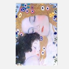 Gustav Klimt Mother & Chi Postcards (Package of 8)
