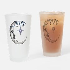 Man in the Moon Drinking Glass