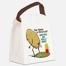 How Fries Are Really Made Canvas Lunch Bag