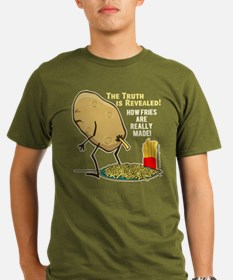 How Fries Are Really T-Shirt