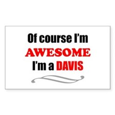 Davis Awesome Family Decal