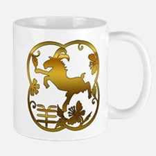 Chinese Year of The Goat Ram Sheep Mug