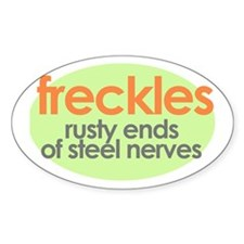 Freckles Oval Decal