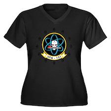 VFA-151 Vigi Women's Plus Size V-Neck Dark T-Shirt