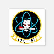 """VFA-151 Vigilantes Square Sticker 3"""" x 3"""""""